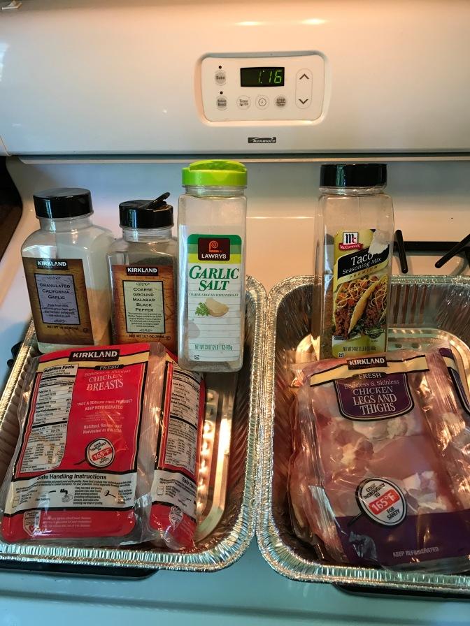 Meal Prep Sunday! Chicken 2 Ways