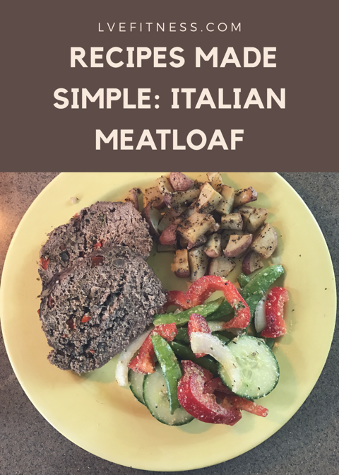 Recipes Made Simple: Italian Meatloaf