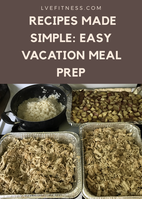 Meal prep for beach vacation tip to save a little money lvefitness so this year i have decided to prep my meals for my beach trip i made 11 pounds of chicken 7 cups of rice cooked 2 pounds of potatoes forumfinder Gallery