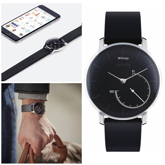 Fashionable Fitness Tracker: Withings Activité Steel